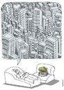 Cartoon: Terapia Urbana (small) by martirena tagged terapia,urbana,contaminacion,deforestacion