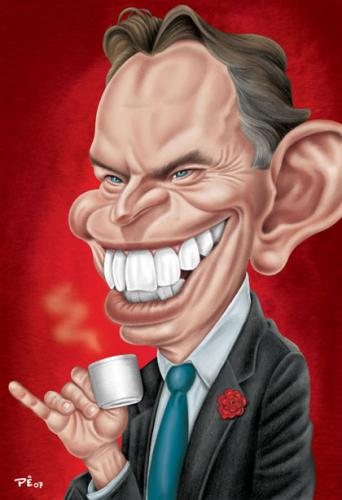 Image result for Tony Blair CARTOON