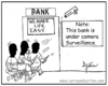 Cartoon: Hidden camera! (small) by irfan tagged banks
