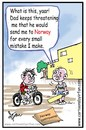 Cartoon: India-Norway  childissue (small) by irfan tagged cartoon
