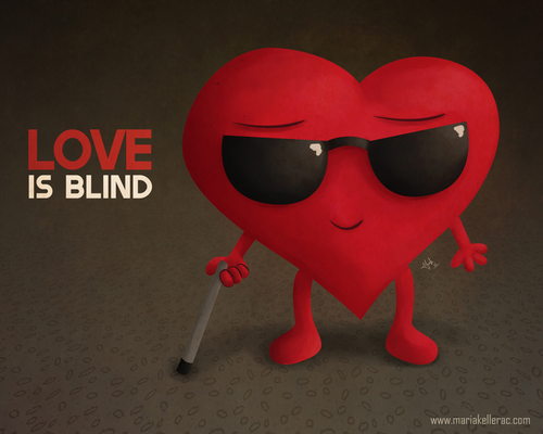 Funny Quotes Love Is Blind : love is blind quick reads delicious men unholy matrimony love is blind ...
