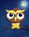 Cartoon: A lonely Owl (small) by kellerac tagged owl,buho,cartoon,illustration,caricatura,maria,keller,kellerac
