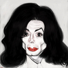 Cartoon: Michael Jackson - Tribute (small) by Ausgezeichnet tagged michael,jackson,caricature,karikatur,freak,mug,shot,irony,king,of,pop