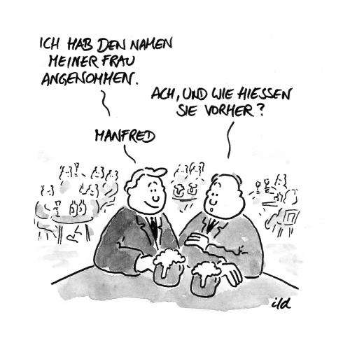 Der Name der Frau By achecht | Love Cartoon | TOONPOOL
