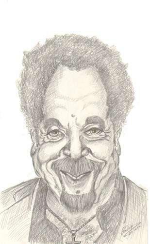 Cartoon tom jones medium by cabap tagged caricature