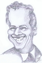 Cartoon: caricature Brian Epstein (small) by cabap tagged caricatures