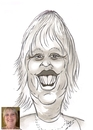 Cartoon: Caroline (small) by cabap tagged caricature