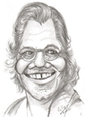 Cartoon: Chick Corea (small) by cabap tagged caricature