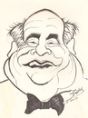 Cartoon: Danny DeVito (small) by cabap tagged caricature
