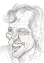 Cartoon: Elisabeth Kübler-Ross (small) by cabap tagged caricature