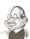 Cartoon: I.M. Pei (small) by cabap tagged caricature