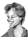Cartoon: IPAD Glenn Close (small) by cabap tagged caricature,ipad