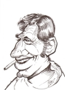 Cartoon: Jean- Paul Belmondo (small) by cabap tagged caricature
