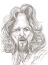 Cartoon: Jeff Bridges (small) by cabap tagged caricature