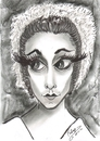 Cartoon: Margot Fonteyn (small) by cabap tagged caricature