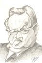 Cartoon: Martti  Ahtisaari (small) by cabap tagged caricature