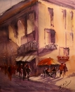 Cartoon: My favorite place!!!!!!! (small) by cabap tagged watercolorpainting