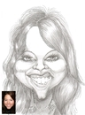 Cartoon: Natalie a caricaturefriend (small) by cabap tagged caricature