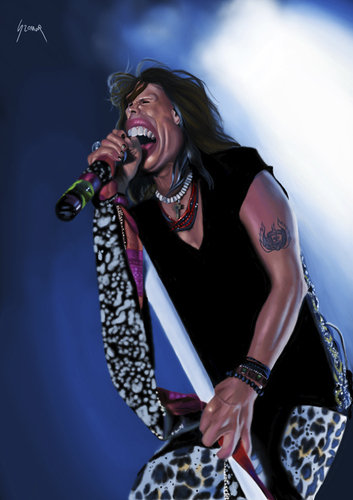 steven tyler cartoon. steven tyler cartoon.