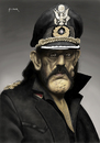 Cartoon: Captain Lemmy (small) by szomorab tagged motorhead,lemmy,kilmister,bass,guitar,rock,roll