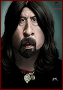 Cartoon: Dave Grohl (small) by szomorab tagged dave,grohl,foo,fighters,them,crooked,vultures,queens,of,the,stone,age,nirvana
