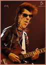 Cartoon: Link Wray (small) by szomorab tagged link wray rumble poster caricature