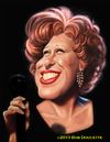 Cartoon: Bette Midler (small) by tobo tagged bette,midler