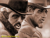 Cartoon: Butch Cassidy and Sundance (small) by tobo tagged redford,newman
