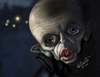 Cartoon: Klaus Kinski as Nosferatu (small) by tobo tagged nosferatu,klaus,kinski,caricature