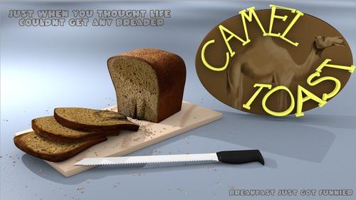 Camel Toast By PlainYogurt | Media & Culture Cartoon | TOONPOOL