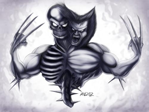Cartoon: Wolverine (medium) by Hellder Gonzales tagged comic,wolverine