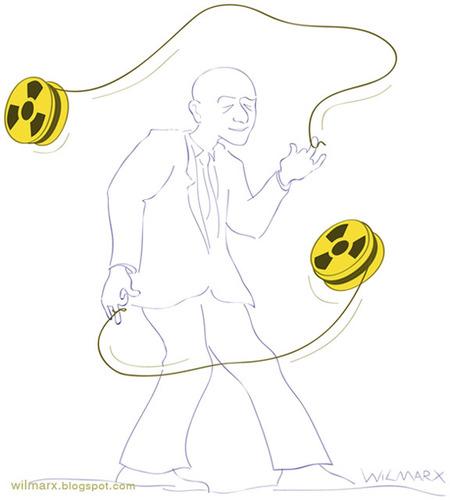 Cartoon  Yo-yo radioactive  medium  by Wilmarx tagged world energy yo