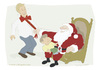 Cartoon: Christmas lasso (small) by Wilmarx tagged santa claus christmas culture