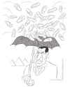 Cartoon: Raining shoes (small) by Wilmarx tagged world