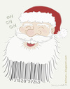 Cartoon: Santa is coming. Get ready (small) by Wilmarx tagged santa claus christmas barcode