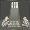 Cartoon: tic tac toe (small) by Wilmarx tagged game,jail,prison
