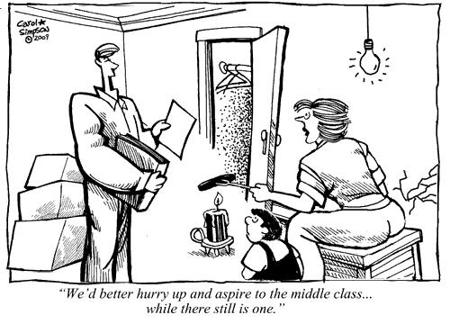 Middle Class Aspirations By Carol Simpson Business