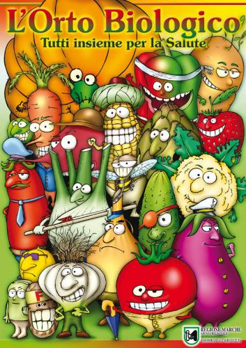 Cartoon: vegetables (medium) by Marco Marilungo Pictor tagged vegetables