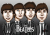 Cartoon: Beatles (small) by mitosdorock tagged beatles,rock
