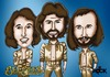 Cartoon: bee gees (small) by mitosdorock tagged bee,gees
