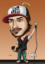 Cartoon: Chorao do Charlie Brown Jr (small) by mitosdorock tagged chorao,charlie,brown,jr,rock