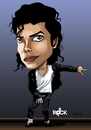 Cartoon: MICHAEL JACKSON CARICATURE (small) by mitosdorock tagged king,pop,michael,jackson,caricature