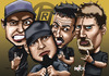 Cartoon: raimundos (small) by mitosdorock tagged raimundos,rock