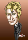 Cartoon: rod stewart (small) by mitosdorock tagged rod,stewart