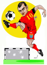 Cartoon: GORAN PANDEV (small) by Miro tagged goran,pandev
