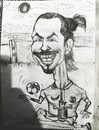 Cartoon: Zlatan ibrahimovic (small) by SiR34 tagged zlatan