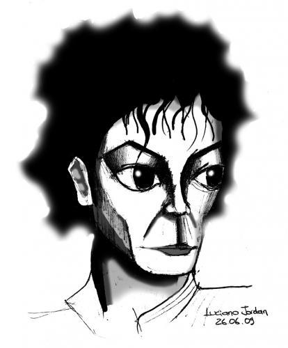 Michael Jackson By Lucianojordan Famous People Cartoon Toonpool