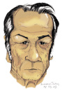Cartoon: Tommy Lee Jones (small) by LucianoJordan tagged tommy,lee,jones,ator,americano,caricature