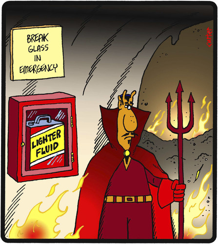 Image result for hell cartoon