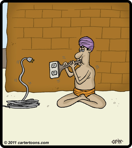 Cartoon Power Cord : Power cord charmer by cartertoons media culture